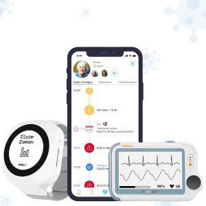 Mate2D Akıllı Sağlık Asistanı – Standart Paket + Vital Bulgu Takip Paketi