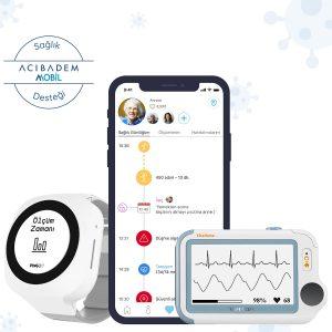 Mate2D Akıllı Sağlık Asistanı – Standart Paket + Vital Bulgu Takip Paketi + Sağlık Destek Hizmet Paketi